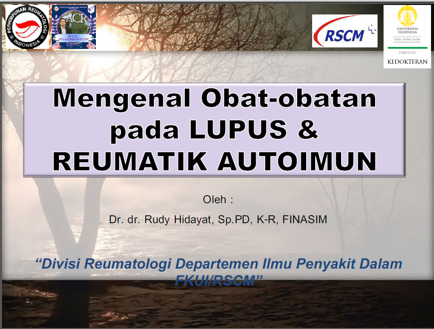 Drugs for Lupus and Rheumatic Disease-Autoimmune