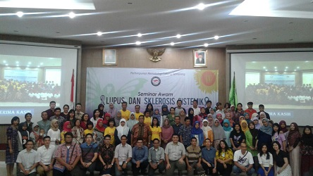 "Public Seminar ""Lupus and Systemic Sclerosis"" Semarang – 22 May 2016"