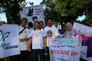 Parahita menyambut World Lupus Day – 29 Mei 2016