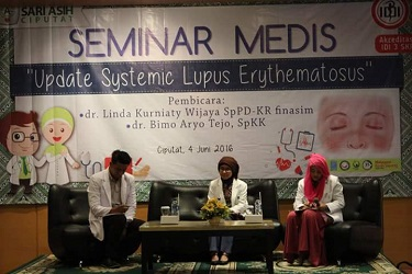 "Medical seminar ""Update Systemic Lupus Erythematosus"" Ciputat, 4 June 2016"