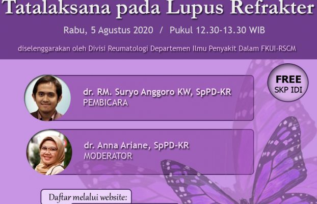 Registration of Management in Refractory Lupus