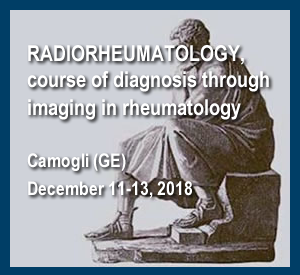 Radiorheumatology, Course Of Diagnosis Through Imaging In Rheumatology Camogli (Ge), December 11-13, 2018