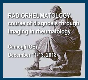 Radiorheumatology, Course Of Diagnosis Through Imaging In Rheumatology Camogli (Ge), December 11-13, 2018
