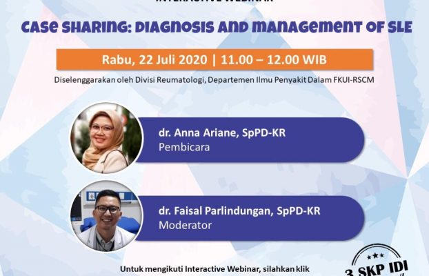 Case Sharing registration: diagnosis and management of SLE