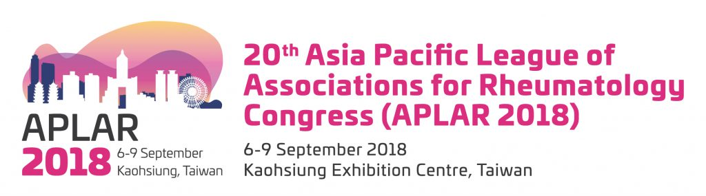 The Asia Pacific League of Associations for Rheumatology (APLAR) 2018