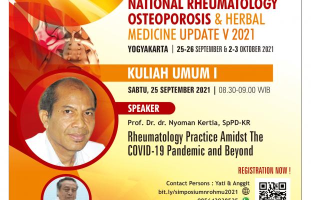 National Rheumatology Osteoporosis & Herbal Medicine Update V 2021