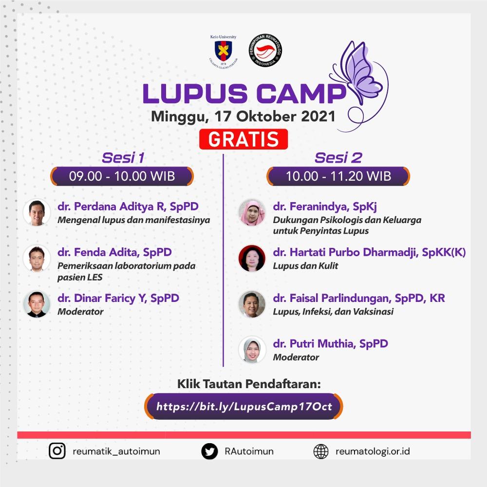 LUPUS CAMP
