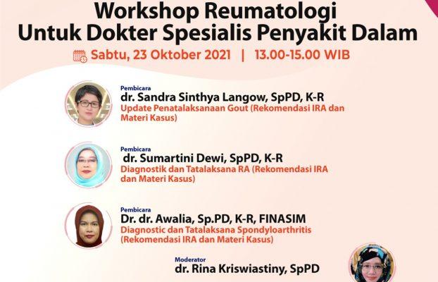 Workshop Reumatologi untuk Dokter Spesialis Penyakit Dalam
